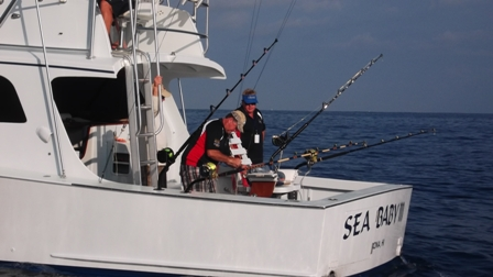 The Game Fishing Club of South Australia on board Sea Baby III